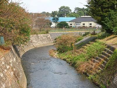 東川下流方面