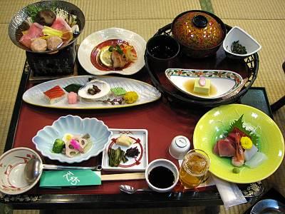 伊香保温泉 ホテル天坊 夕食