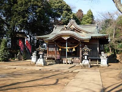滝の城址 城山神社