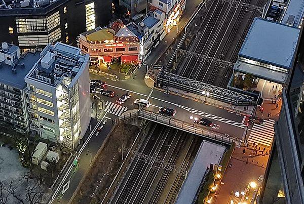 上から見たアメリカ橋