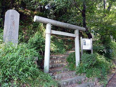 広瀬浅間神社の入口