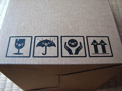 モバイルSuica ペンギンタッチライトの箱