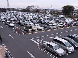 ビバホーム 埼玉大井店 休日のお昼頃の駐車場