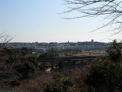 城山神社から南方面