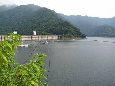 奥多摩湖 小河内貯水池(ダム)