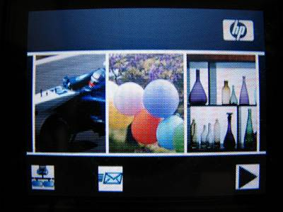 HP Photosmart 3210a 液晶画面
