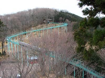 仙元山見晴らしの丘公園ローラーすべり台