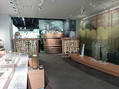 常設展示の入口