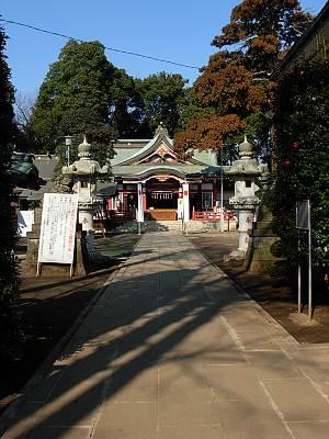 清瀬市 日枝神社