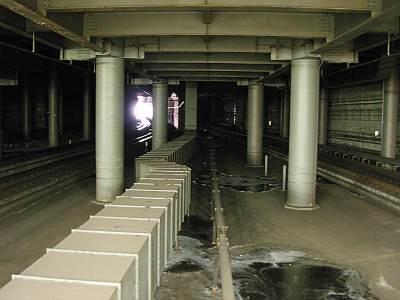 大宮駅の埼京線ホーム