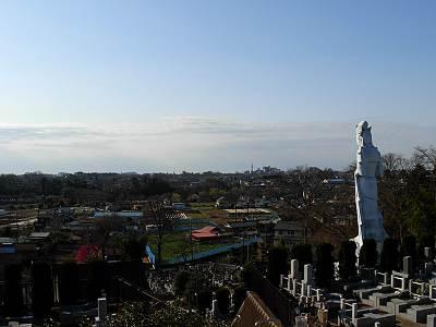 東福寺裏山からの眺望