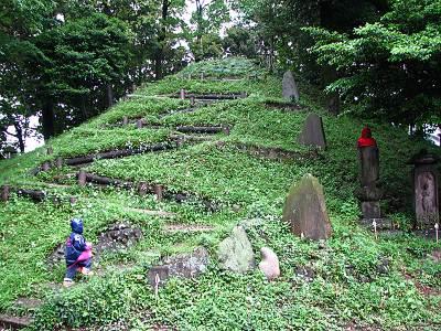 中里富士へ参拝
