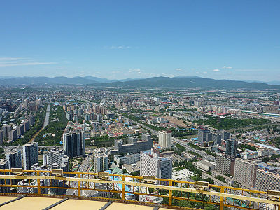 中央電視塔からの展望2