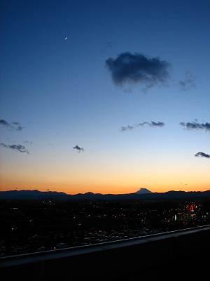 THE MALLみずほ16からの富士山その1