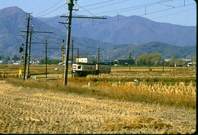 1985年ころの丸窓電車