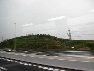 車窓からみた行徳富士1