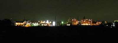 東所沢の夜景