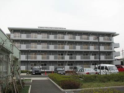 都営の塩団地の新しい建物