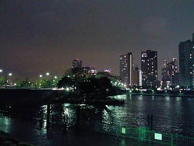 越中島公園から見た中の島