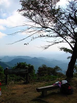 関八州見晴台から見る関東平野方面