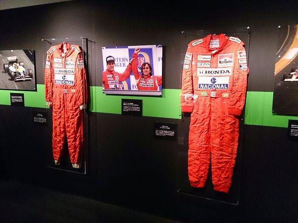 アイルトン・セナのレーシングスーツ
