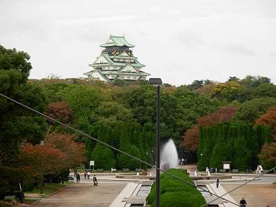 森ノ宮駅から見た大阪城