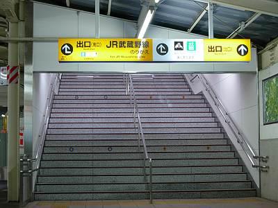 秋津駅前の案内板2