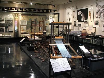 三芳町立歴史民俗資料館の展示室