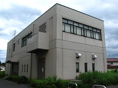 東京都北多摩北部建設事務所 黒目川黒目橋調節池管理棟