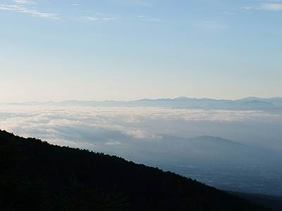 車坂峠からの眺望