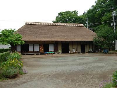 三芳町の旧島田家住宅