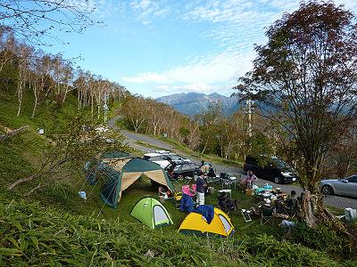 しらびそ高原キャンプ場