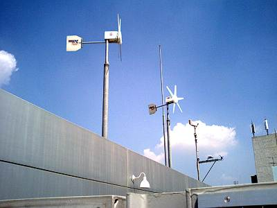 あんさんぶる荻窪の風力発電機
