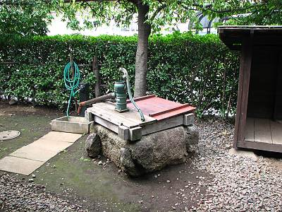 旧池上家住宅の井戸その2