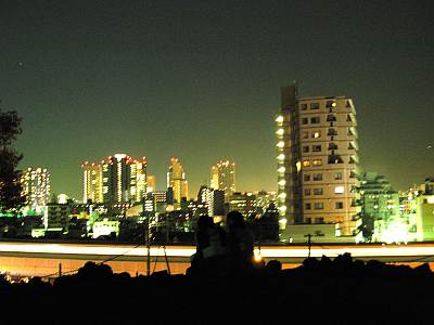 品川富士からの夜景
