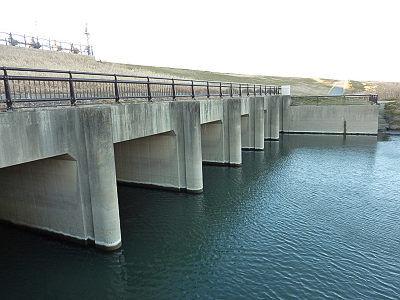 庄和排水機場から江戸川へ