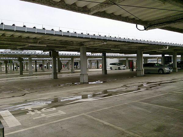 IKEA立川駐車場2