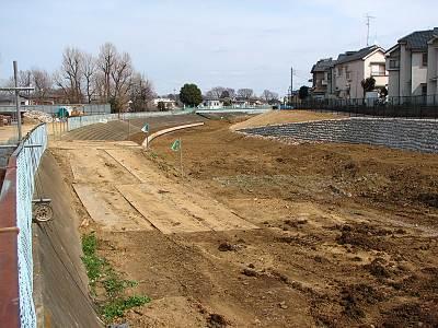 柳瀬川整備工事(その14)工事現場