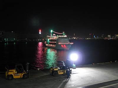 ヴァンテアン号帰港5