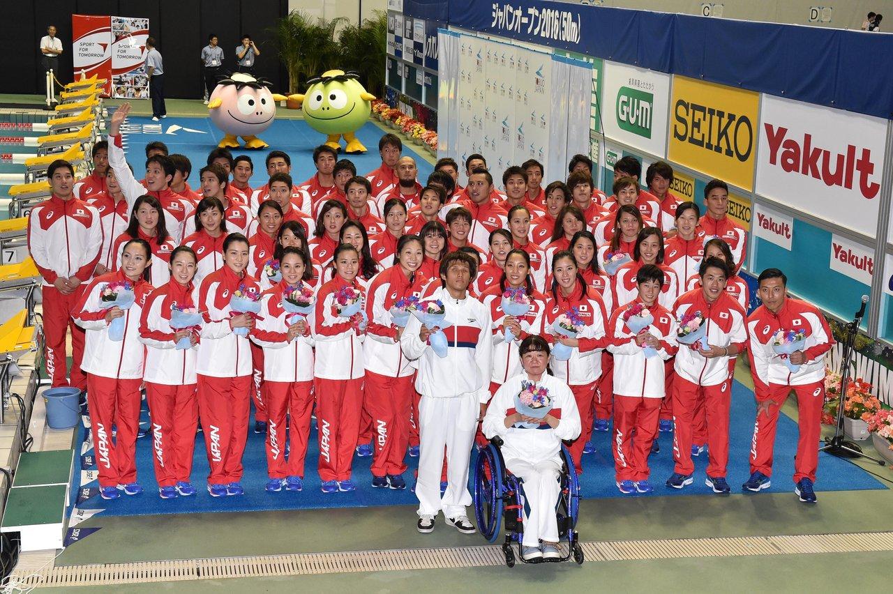 TOBIUO JAPAN Journal : 水泳競...