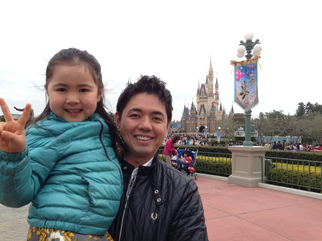 桂 春蝶オフィシャルブログ : 家族でディズニーランド