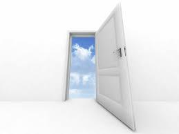 door sky