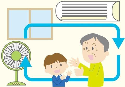 エアコン扇風機組み合わせ