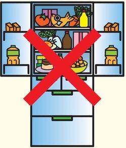 冷蔵庫詰め込みすぎ