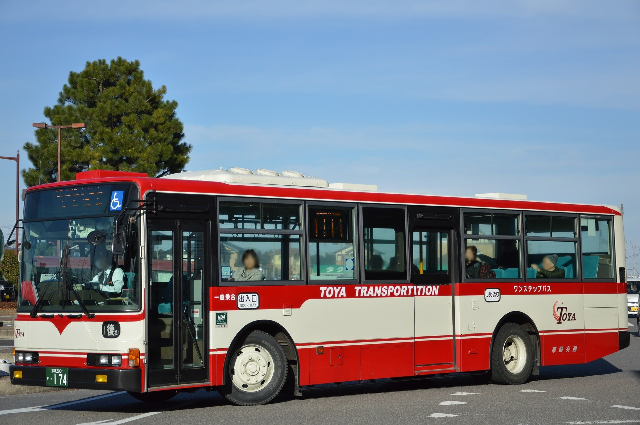 東野交通 那須200か174 : Bus Fr...