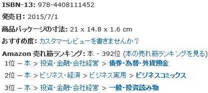 ループイフダン七瀬玲Amazonベストセラー1位2015年7月3日12時00分