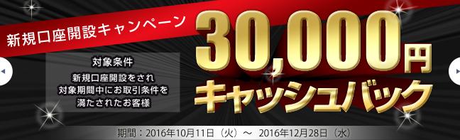 ループイフダン3万円キャッシュバックキャンペーン
