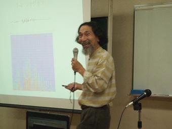 関西大学教授木村洋二先生「笑い測定機」