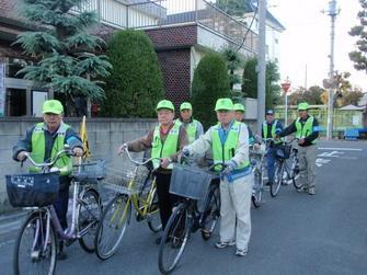 自転車パトロール隊