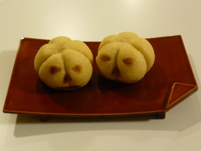 カボチャのお饅頭